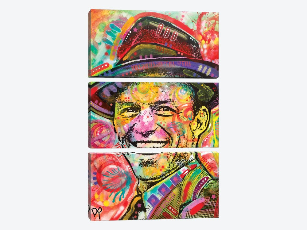 Frank Sinatra III by Dean Russo 3-piece Canvas Artwork