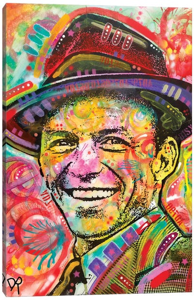 Frank Sinatra III Canvas Art Print