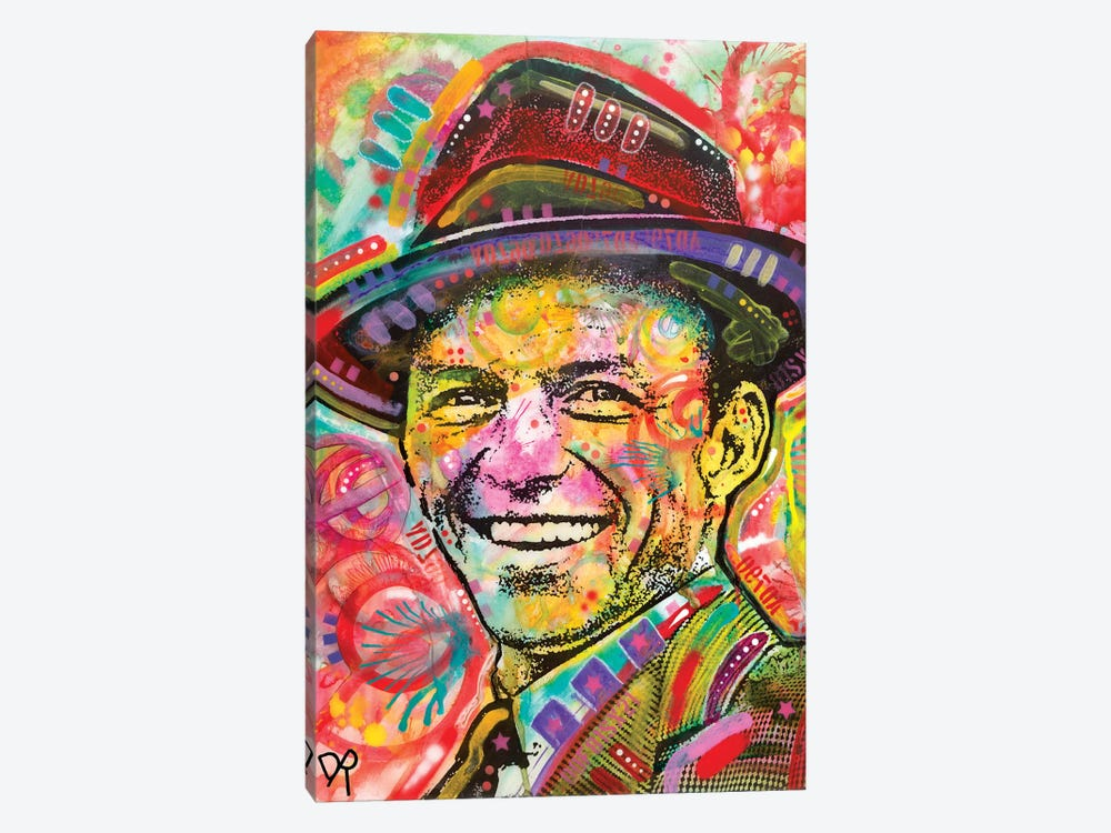 Frank Sinatra III by Dean Russo 1-piece Canvas Wall Art