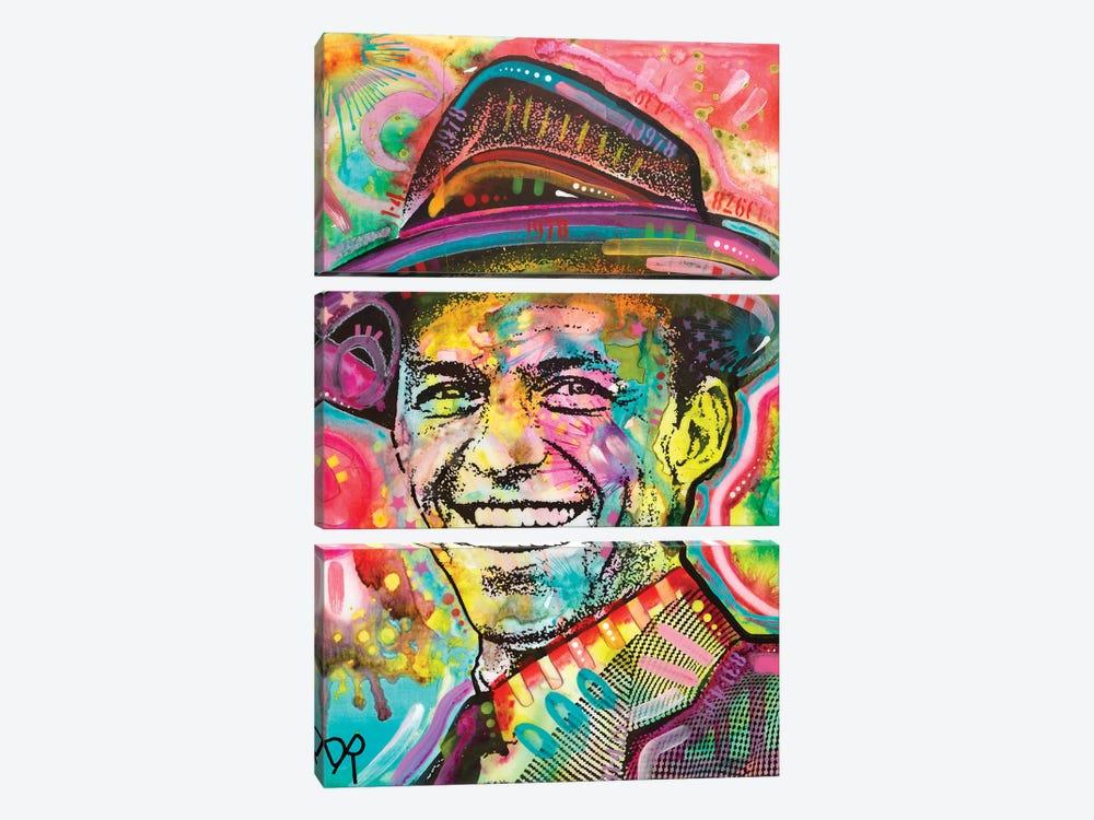 Frank Sinatra IV by Dean Russo 3-piece Art Print