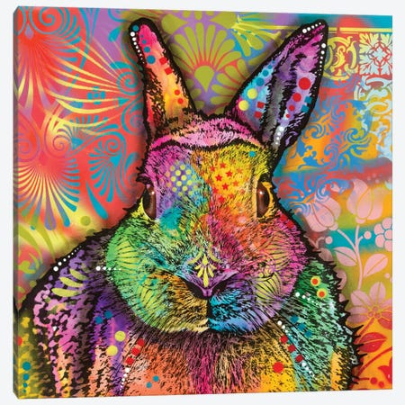 Hare Canvas Print #DRO585} by Dean Russo Canvas Art Print