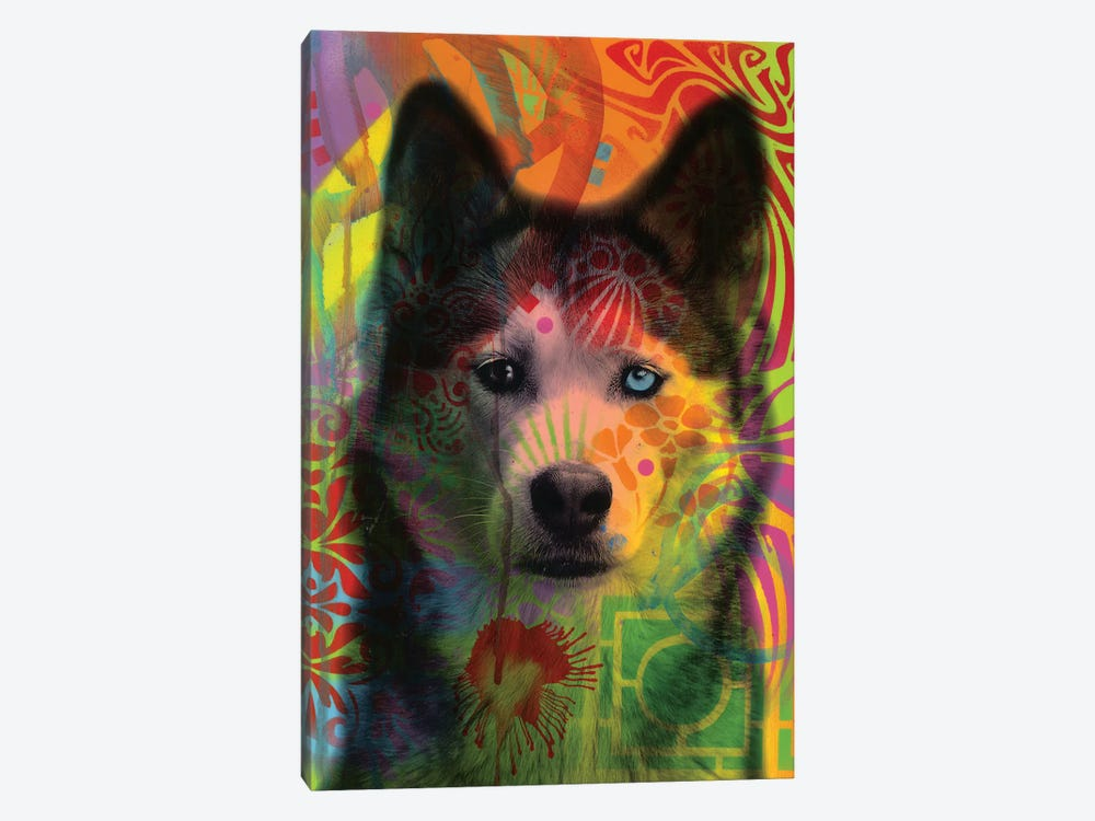 Husky's Eye 1-piece Canvas Art Print