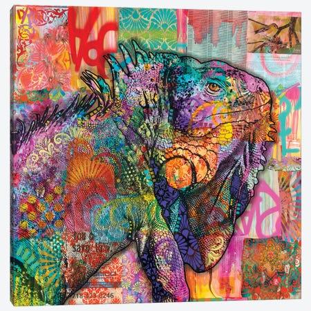 Iguana Canvas Print #DRO587} by Dean Russo Canvas Art Print