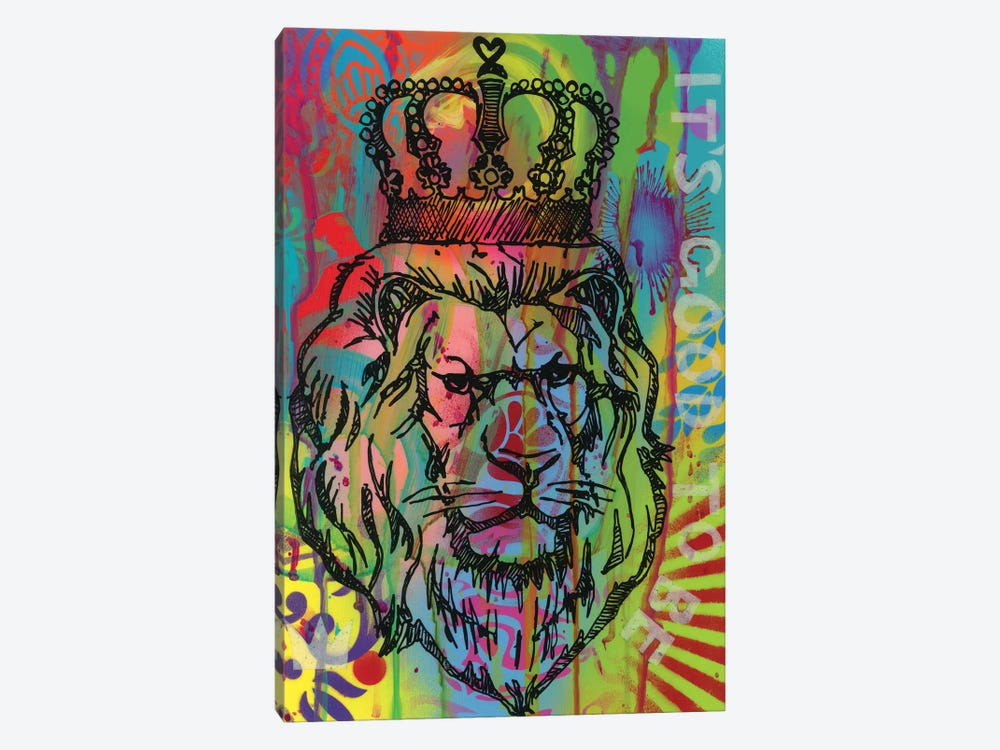 It's Good To Be The King by Dean Russo 1-piece Canvas Art Print