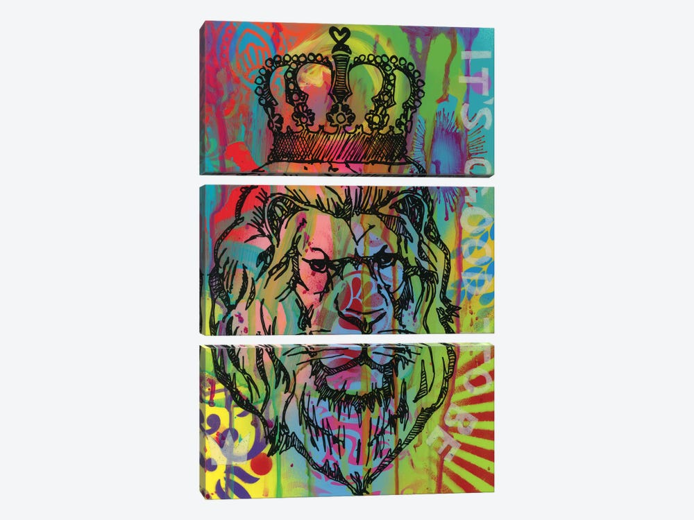 It's Good To Be The King by Dean Russo 3-piece Art Print