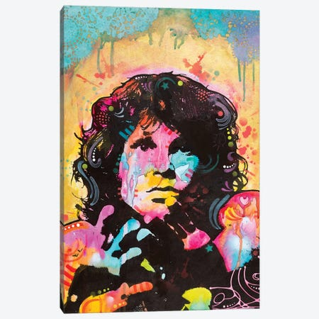 Jim Morrison Canvas Print #DRO591} by Dean Russo Art Print
