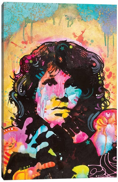 Jim Morrison Canvas Art Print