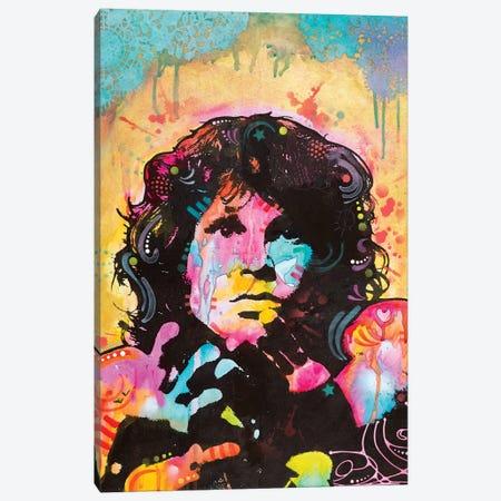 Jim Morrison Canvas Print #DRO591} by Dean Russo Art Print