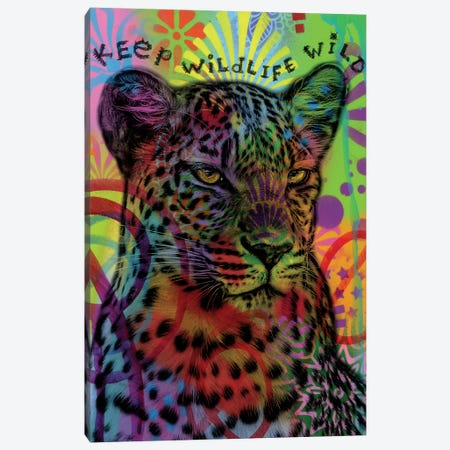 Keep Wildlife Wild II Canvas Print #DRO595} by Dean Russo Canvas Wall Art