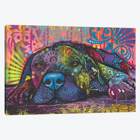 Lay Down Canvas Print #DRO596} by Dean Russo Canvas Artwork