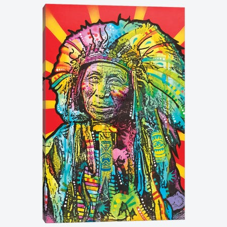 Native American I Canvas Print #DRO601} by Dean Russo Art Print