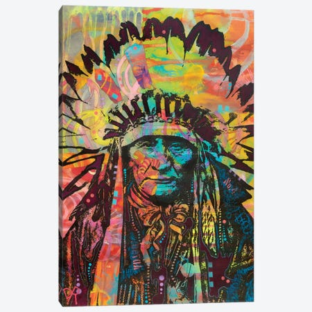 Native American II Canvas Print #DRO602} by Dean Russo Canvas Print