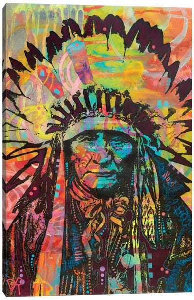 Native American II Canvas Art Print