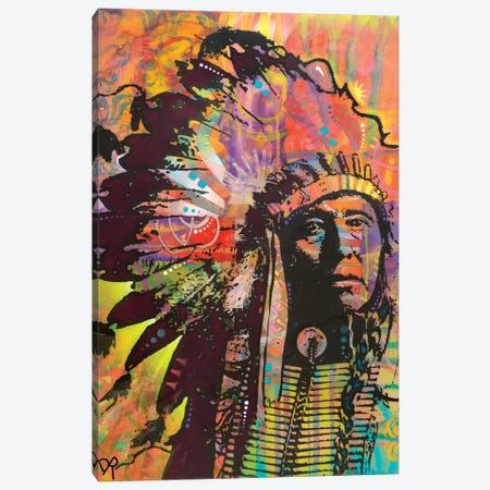 Native American III Canvas Print #DRO603} by Dean Russo Art Print