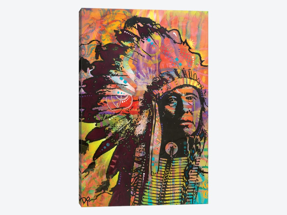 Native American III by Dean Russo 1-piece Canvas Artwork