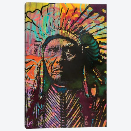 Native American IV Canvas Print #DRO604} by Dean Russo Canvas Art