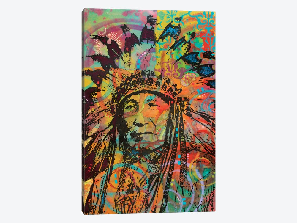 Native American V 1-piece Canvas Artwork