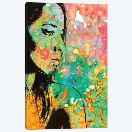 The Look Canvas Print #DRO612} by Dean Russo Canvas Art