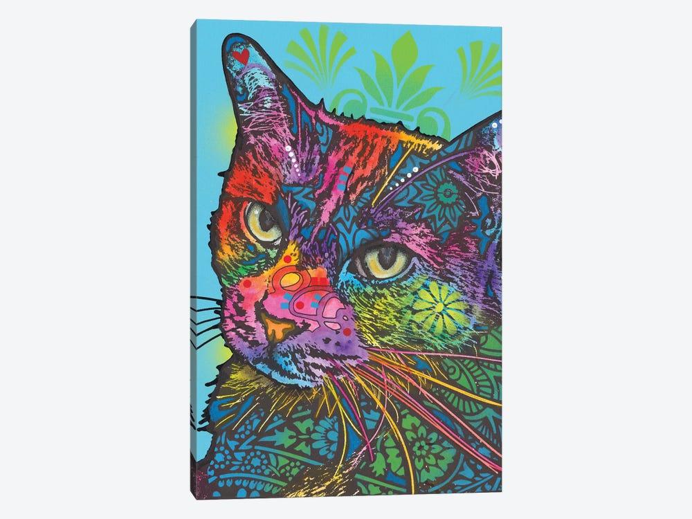 Zeus The Cat by Dean Russo 1-piece Canvas Print