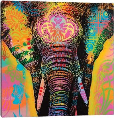 Eleph Canvas Art Print