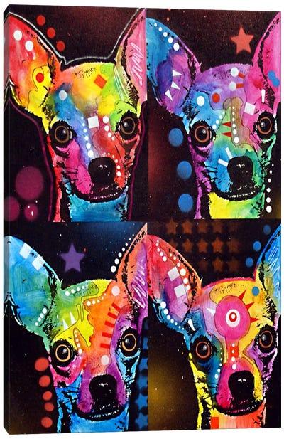 Chihuahua 4x Canvas Print #DRO62