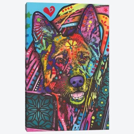 Jax Canvas Print #DRO634} by Dean Russo Canvas Print