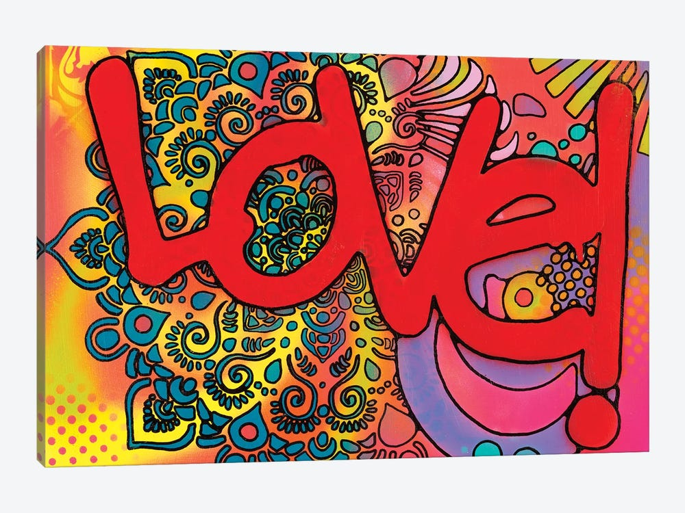 Love I by Dean Russo 1-piece Canvas Art