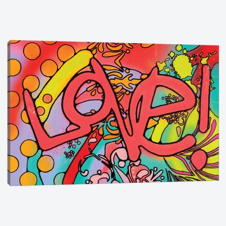 Love II Canvas Print #DRO639} by Dean Russo Canvas Wall Art