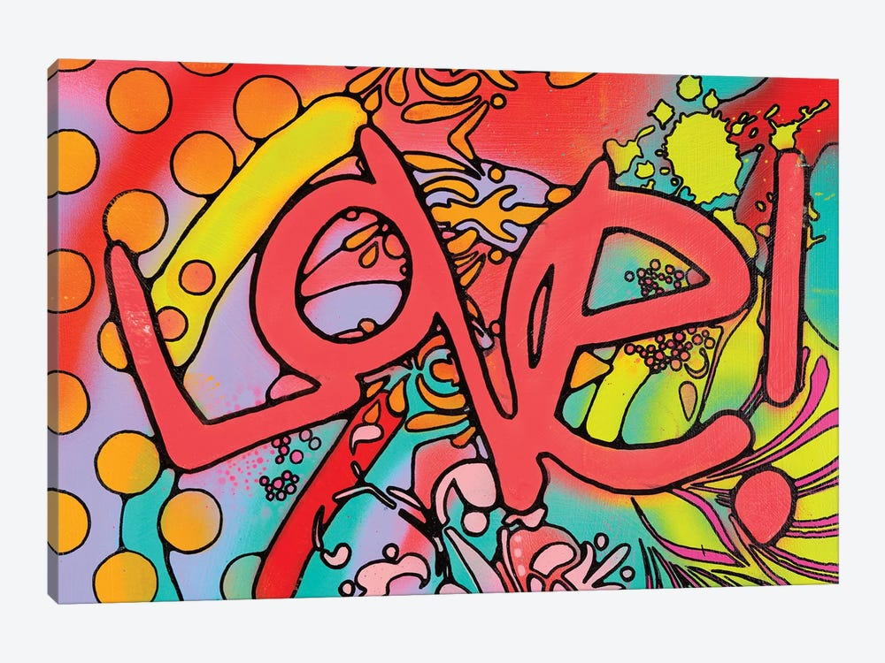 Love II by Dean Russo 1-piece Canvas Art Print