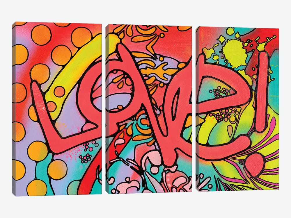 Love II by Dean Russo 3-piece Canvas Print
