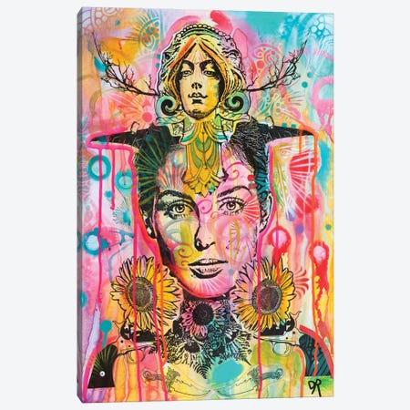 Sunny Statue Stare Canvas Print #DRO647} by Dean Russo Canvas Art