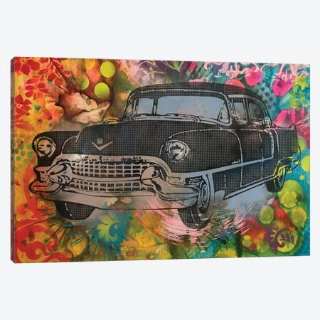 55 Cadillac Canvas Print #DRO651} by Dean Russo Canvas Wall Art