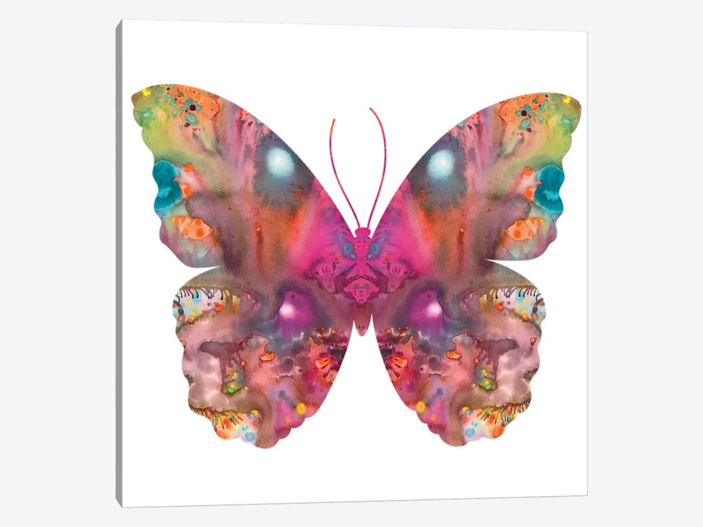 Abstract I Butterfly by Dean Russo 1-piece Art Print