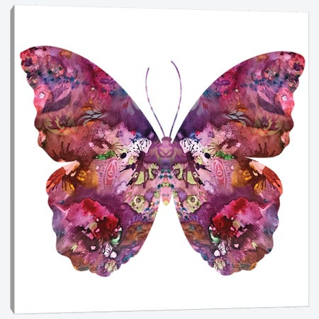 Cinematic Butterfly Canvas Print #DRO655} by Dean Russo Canvas Print