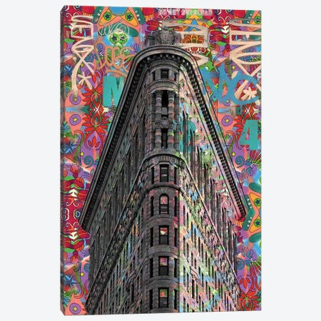 Flatiron Canvas Print #DRO657} by Dean Russo Canvas Art Print