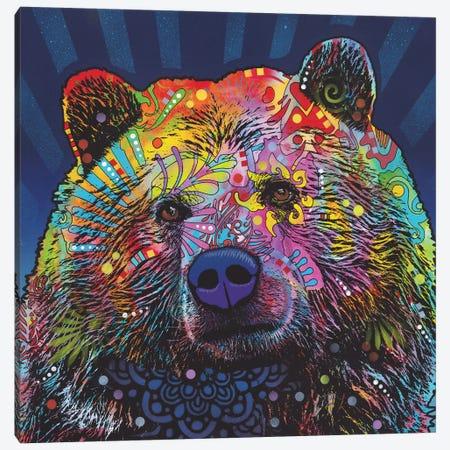 Grizz Canvas Print #DRO661} by Dean Russo Art Print