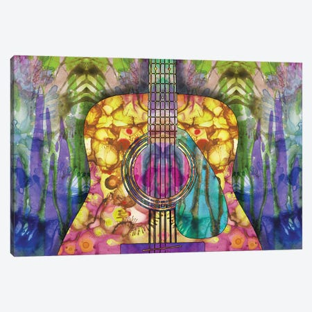 Guitar II Canvas Print #DRO662} by Dean Russo Canvas Print