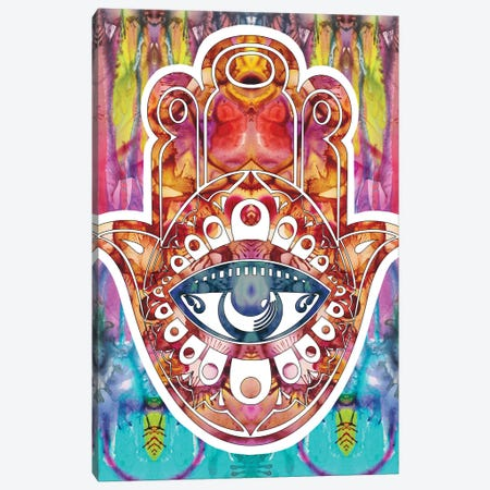 Hamsa Canvas Print #DRO663} by Dean Russo Canvas Print