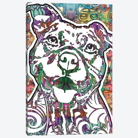 Happy Pit Canvas Print #DRO664} by Dean Russo Canvas Art