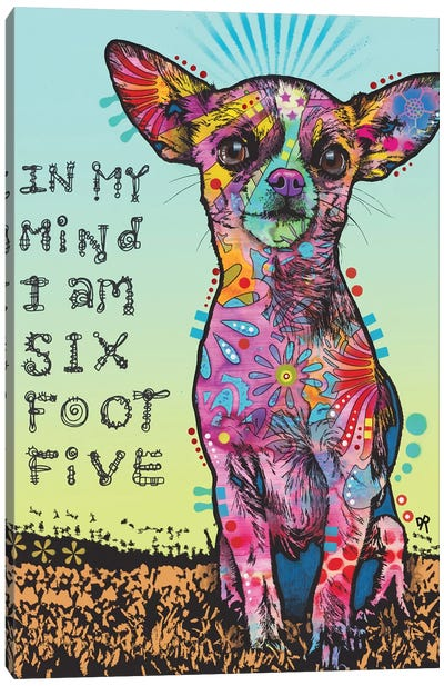 In My Mind Canvas Art Print