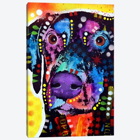 Dobie Canvas Print #DRO66} by Dean Russo Art Print
