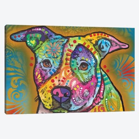 JoJo Canvas Print #DRO671} by Dean Russo Canvas Wall Art