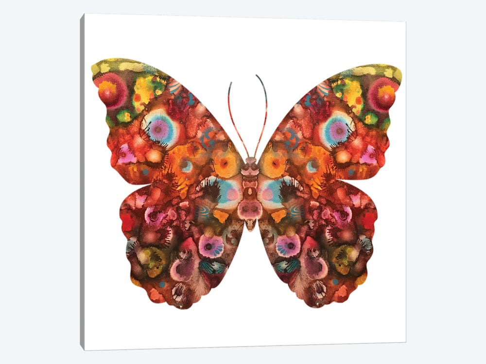 Kamasi Butterfly by Dean Russo 1-piece Canvas Wall Art