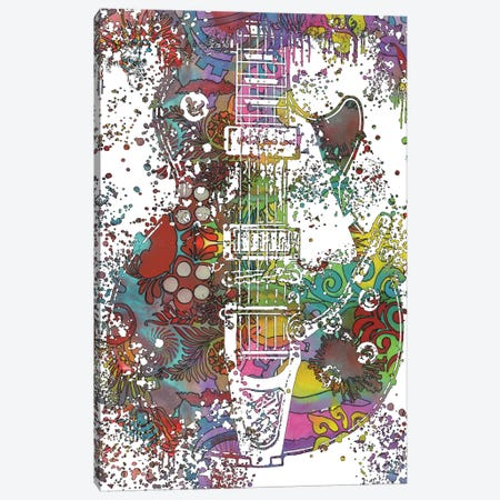 Les Paul Whammy Canvas Print #DRO675} by Dean Russo Canvas Print