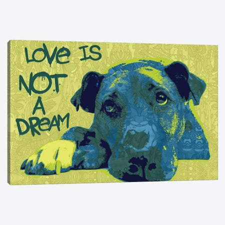 Love Is Not A Dream Canvas Print #DRO681} by Dean Russo Canvas Art Print