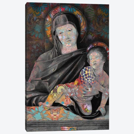 Madonna And Child Canvas Print #DRO686} by Dean Russo Canvas Artwork