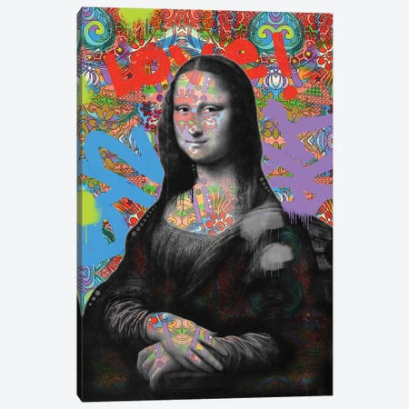 Mona Lisa Canvas Print #DRO687} by Dean Russo Canvas Wall Art