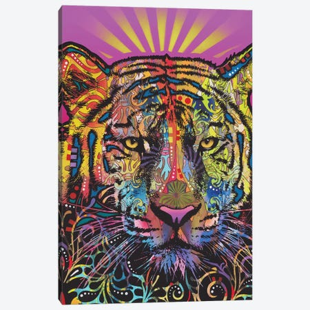 Regal (Tiger) Canvas Print #DRO692} by Dean Russo Canvas Wall Art