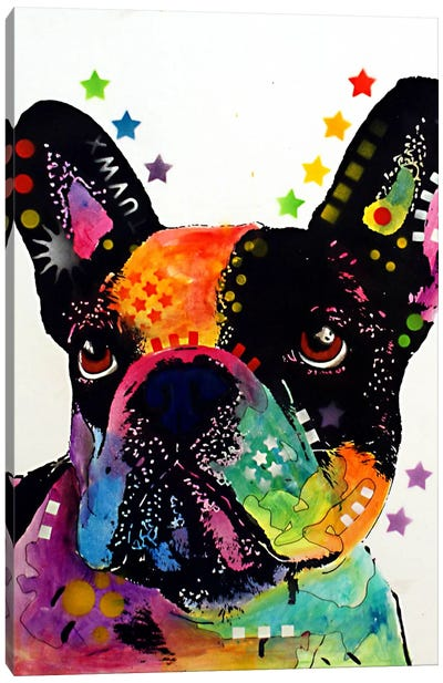 French Bulldog I Canvas Art Print