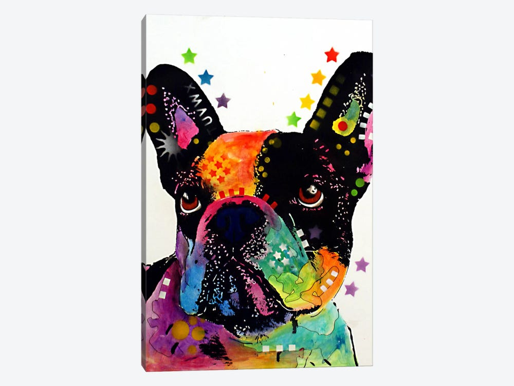 French Bulldog I by Dean Russo 1-piece Canvas Artwork